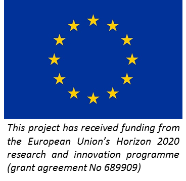 EU flag and funding text